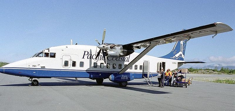 Pacific Coastal Airlines (courtesy Wikipedia)