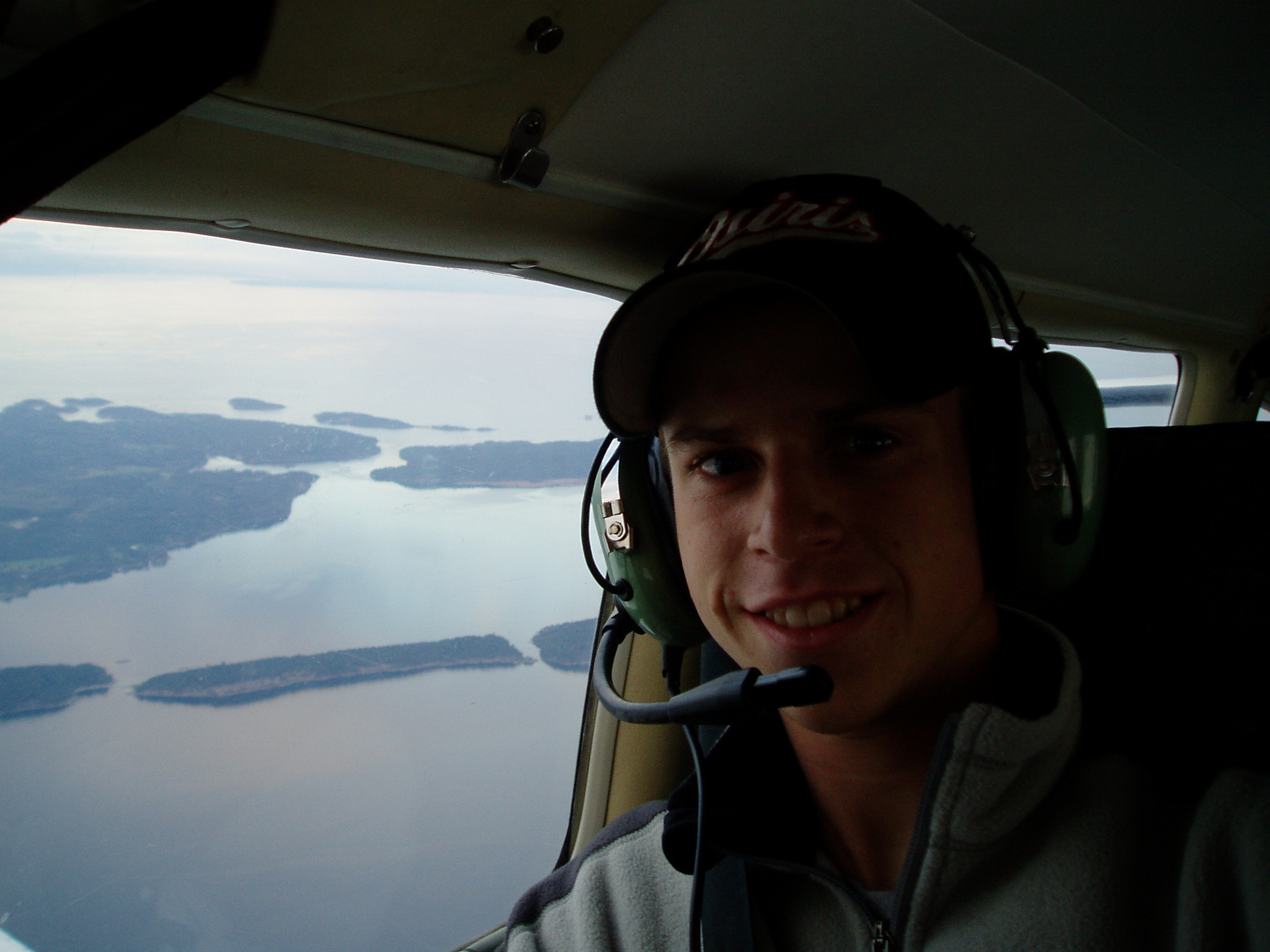 Bryan Dudas, Private Pilot and Commercial Pilot Graduate, Langley Flying School.