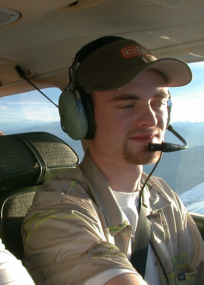 Edward Huggett, Commercial Pilot Graduate, Langley Flying School.