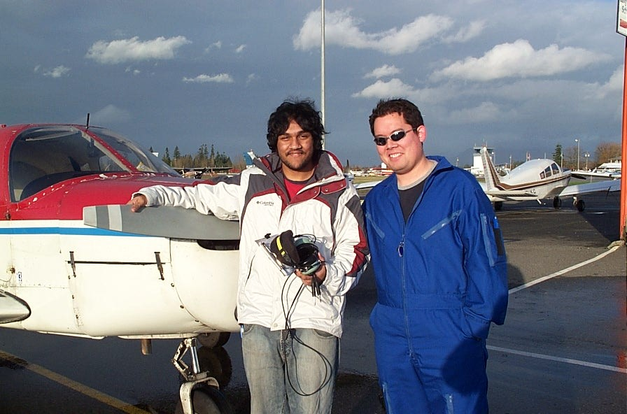 Congratulations to Ritesh Ahire, who completed his First Solo Flight Cherokee FKKF on December 12, 2006. Congratulations also to Ritesh's Flight Instructor, Justin Chung.
