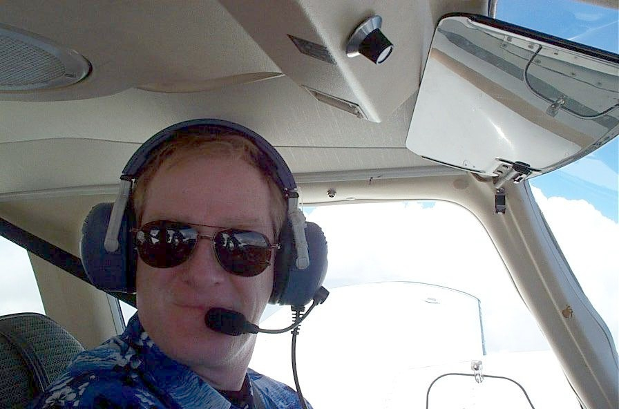 Tom Larkin, Safety Management Officer, Langley Flying School